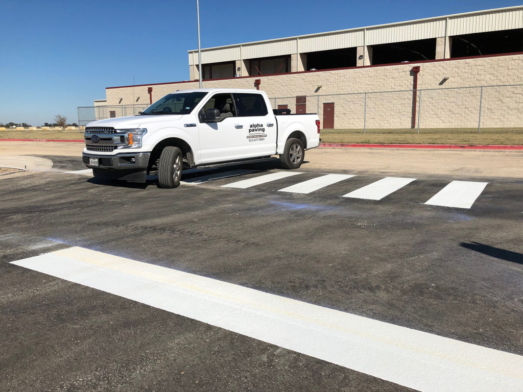 Wilco Expo | Thermoplastic Markings | Taylor, TX » Alpha ...