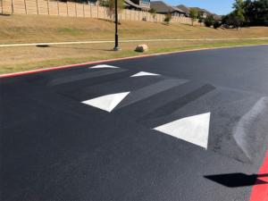 Speed Bump Installation | Asphalt Paving | Austin, TX ...